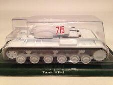 Fabbri Tanques Rusos Colección Soviético Kv-1 Tanque De Batalla 1:72 Escala Nuevo