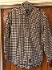 Marc O'Polo Mens Quality Navy And White Check Shirt Size M