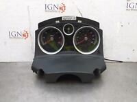 VAUXHALL ASTRA H 1.9 CDTI Instrument Cluster Speedometer 13230598