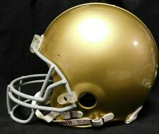 97080dc3a Notre Dame Vintage Authentic Riddell Full Size NCAA Football Helmet