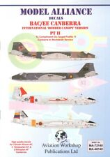 NEW 1:72 Model Alliance Decals 72140 BAC / EE Canberra International Bomber