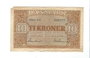 Denmark - 1944, 10 Kroner