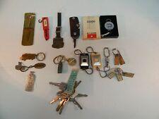 Vintag Key/Fob/Chain Lot 25+ Car Truck Mechanic Ford Gm Corvair Nash Rambler Cat