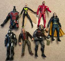 Marvel Legends Fodder Lot Of Action Figures Iron Man LoKi X-Men See Description