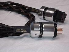 Maze Audio Ref4 Billet Custom 20 Amp to 15 Amp 4ft AC Power Cord 10 Ga Gaofei