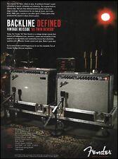 Fender Vintage Reissue '65 Twin Reverb Amp 2008 ad 8 x 11 advertisement