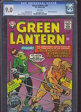 GREEN LANTERN #39 CGC VF/NM 9.0; White Pg!; Gil Kane/ Murphy Anderson cvr/art!