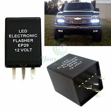 4-Pin LED Flasher Relay Fix For Chevy Silverado Suburban 2500 Turn Signal Lamps