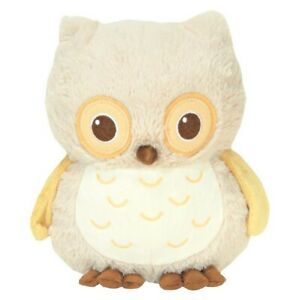Cloud B Sunshine Natural Owl Soothing Sounds Baby Crib Plush Stuffed Animal Toy