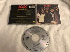 AC/DC HIGHWAY TO HELL ORIGINAL ATLANTIC CD RARE OOP