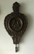Antique Victorian Carved Fireplace Bellow