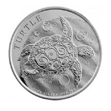 Turtle Taku 2014 Karettschildkröte 1 OZ Unze 2014 Silber Silver Argent Niue