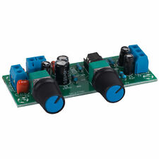 Variable Low Pass Filter Electronic Subwoofer Crossover Preamp Board with Gain C
