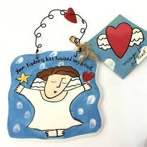 Kind Messages From the Heart Ceramic Gift Plaque Sandra Magsamen Silvestri