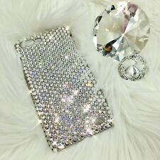 For iPhone 8 Plus Clear Crystal Diamond Bling Back Case w/ Swarovski Crystals 24