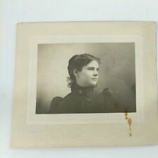 Vintage Photo Of Unknown Woman Wearing Iron Cross