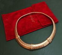 Erstklassiges CARTIER 750er Tricolor-GOLDCOLLIER • 41,5 cm • 74,75 g Goldkette