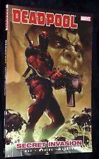 Deadpool Vol 1 Secret Invasion Marvel Comics Softcover New Graphic Novel Book MT