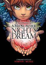 Midsummer Night's Dream (Shakespeare Graphics)-ExLibrary