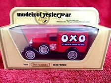 MATCHBOX MODELS OF YESTERYEAR Y21 1930 MODEL 'A'  FORD VAN [OXO] 1978