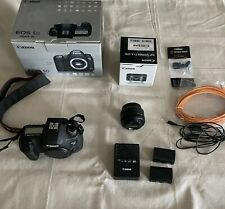 Canon EOS 5D Mark III Digital SLR Camera + 50 mm Kit Lens 2 Batteries And Cord.