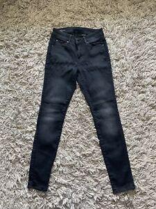 G Star Raw 3301 High Skinny Black Jeans  29