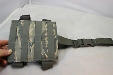 ABU DIGITAL MOLLE II MEDIUM DROP LEG PANEL MADE IN THE USA NEW DOUBLE LEG STRAPS