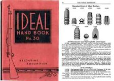Ideal 1933 Hand Book of Useful Information No. 30 Catalog