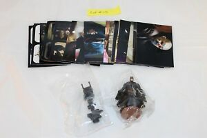 C2008 Batman The Dark Knight 20 Stickers & 2 figurines in Mint Condition Lot #05
