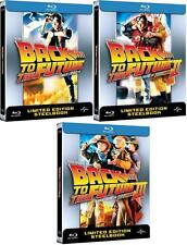 Back to the Future Trilogy - Limited Edition Steelbooks (Blu-ray)  BRAND NEW!!