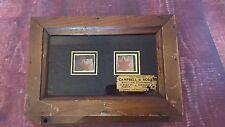 Antico in legno 2 finestra Servo Butler Bell Scatola Periodo edoardiano ORIGINALE