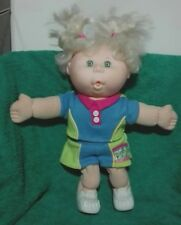 Bambola Cabbage Patch baby HBSB(2) Mattel, PARLA e CANTA, bionda, 35cm