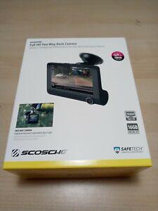 Scosche DDVR2XFHD Full HD Two Way Dash Camera NEW