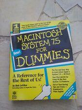 """Livre en anglais """"MACINTOSH SYSTEM 7.5 FOR DUMMIES"""""""