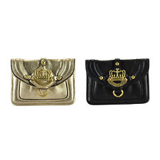 NEW Juicy Couture Crown Leather Skinny Coin Case Bag Pouch ON SALE!