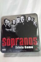 The Sopranos Trivia Game in Metal Tin HBO 2004 Cardinal ~ New Sealed