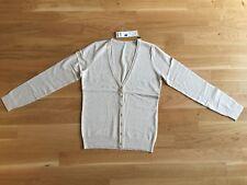 Strickjacke ESPRIT beige creme mit Rollkanten Größe M (36 38 40)