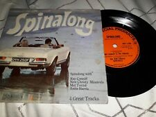 "Spinalong - Ray Conniff, Mel Torme, Anita Harris, New Christy Minstrels 7"" EP"