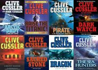 Adventure book collection by C. Cussler [EPUB AND MOBI]