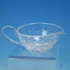Waterford Crystal - Glandore Pattern - Handled Gravy or Sauce Boat