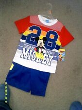 DISNEY OUTFIT FOR BOYS SIZE 4 NEW WITH TAGS NICE!