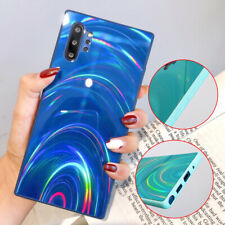 For Samsung S20 Note 10 A50 Bling Laser Glitter Ultra Slim TPU Back Case Cover