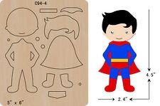 new Superman Wooden Die Thick 15.8mm Cutting Dies  Scrapbooking  C-94-4