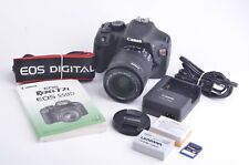 MINT- CANON EOS REBEL T2i DSLR w/18-55mm F3.5-5.6 IS, 2BATTS, CHARGER, 817 ACTS!