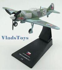 "Amercom 1:72 Lavochkin La-7 Czech Air Force ""White 64"" Czechoslovakia 45 ACSL48"