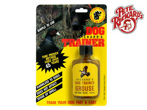 PETE RICKARDS - NEW 1 1/4 OZ. GROUSE HUNTING DOG TRAINING SCENT - MADE IN U.S.A.