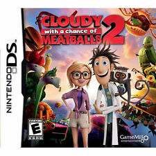 CLOUDY WITH A CHANCE OF MEATBALLS 2 NEW DS DSI, LITE, XL, 3DS! FAMILY GAME NIGHT