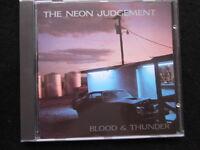The Neon Judgement - Blood & Thunder (CD)