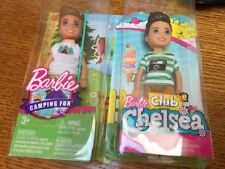 Barbie Chelsea & Friends BOY Doll Tommy Ryan & Camping Fun Boy Doll