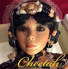 """CHEETAH by Rustie 33"""" LIMITED EDITION #49/400 Masterpiece Porcelain Doll MINT"""